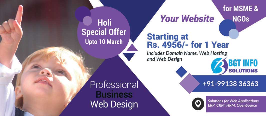 Website Holi Offer